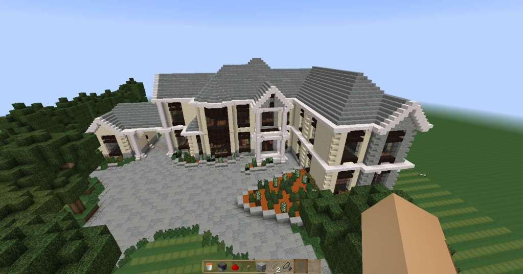 descargar Mansion moderna minecraft
