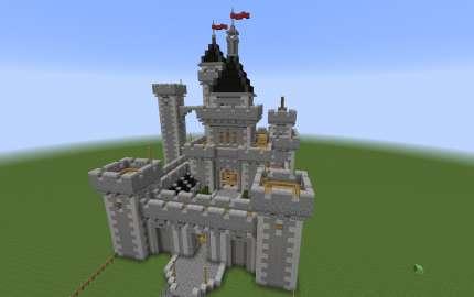 Castillo mediaval minecraft