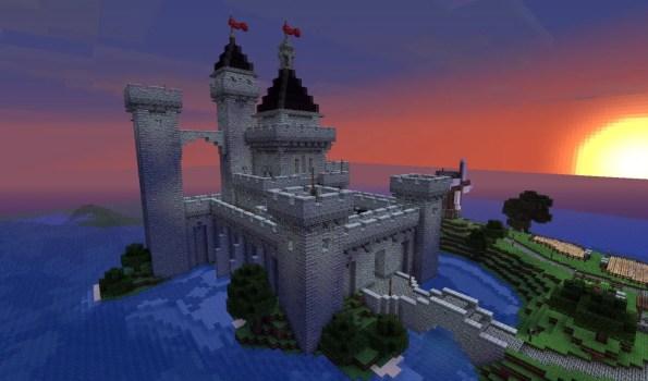castillo minecraft descargar schematic