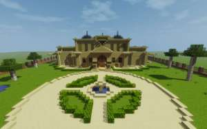 Mansion Moderna Minecraft