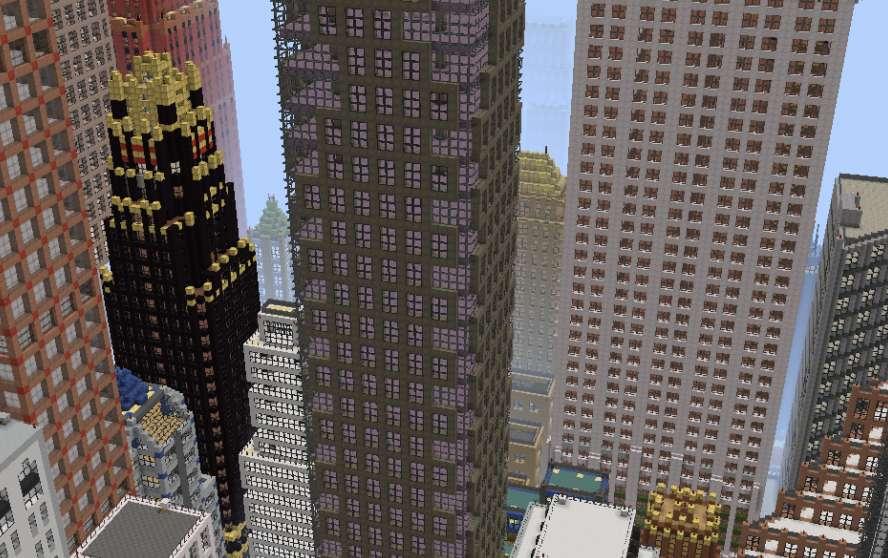 Rascacielos moderno minecraft minecraft descargas for Minecraft moderno