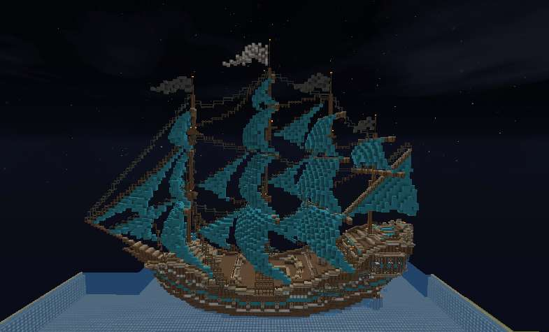Barco Pirata Minecraft