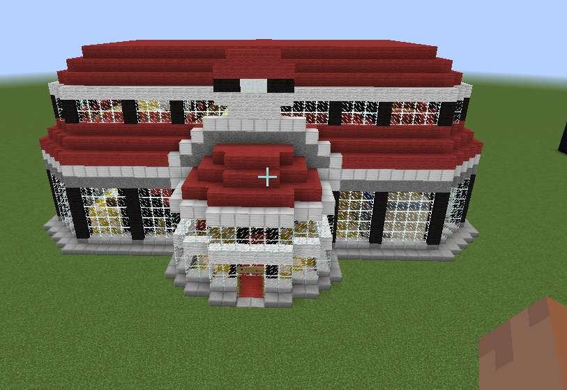 Centro Pokemon Minecraft