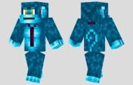 Blue Monkey #MinecraftSkin