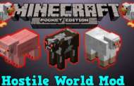 Hostile World Mod #MinecraftPE