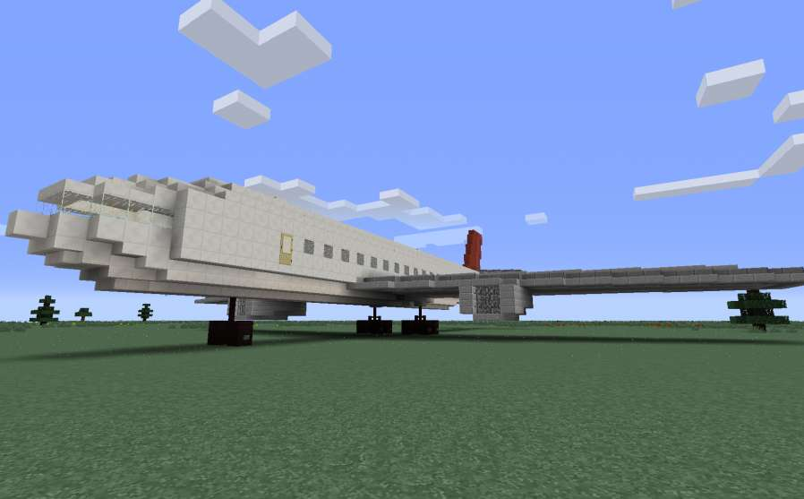 Airbus A320 Minecraft