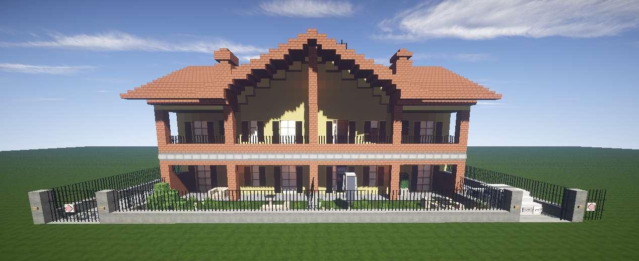 Casa Italiana Minecraft  Minecraft Descargas