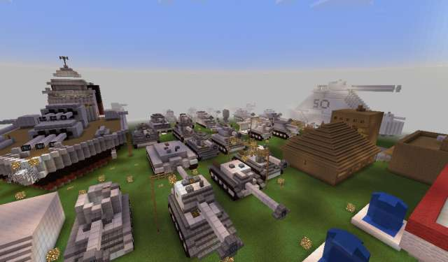 Museo Guerra Minecraft Mapa
