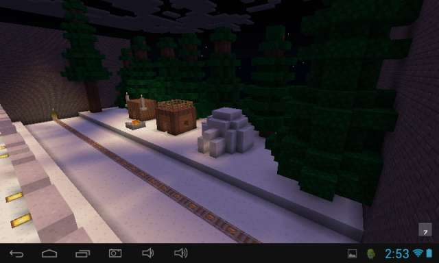 Biome Toller Coaster Mapa Minecraft PE 2