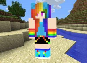 chica-arcoiris-minecraft-2
