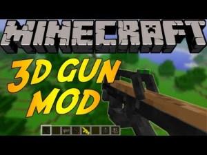 Stefinus 3D Guns Mod para Minecraft