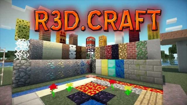 R3D CRAFT Minecraft PE