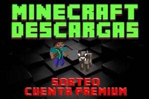 Sorteo cuenta premium Minecraft