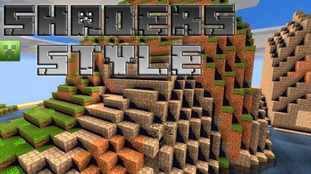 Pack de Texturas ShaderStyle para Minecraft PE