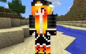 Skin Chica Dragon Minecraft