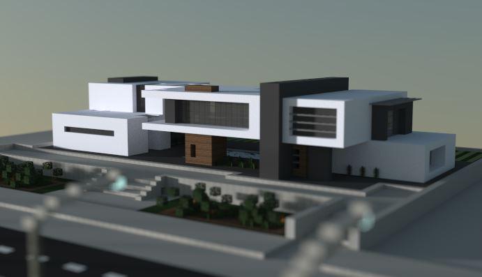 Mansion Moderna Triton para Minecraft
