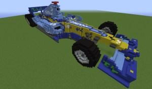 Renault R26 F1 Minecraft