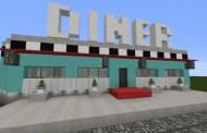 Restaurante de los años 50 Minecraft