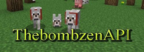 API Thebombzen 1,8 / 1.7.10 / 1.7.2 / 1.6.4 Minecraft