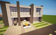 Descargar casa moderna Minecraft