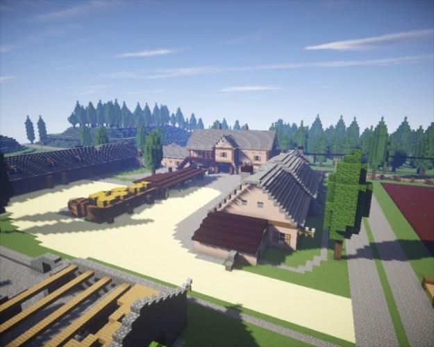 Mega Granja Minecraft 1