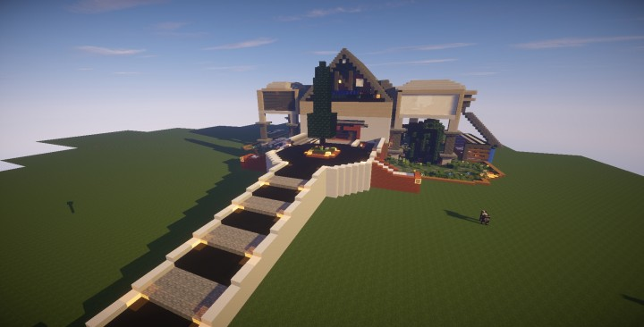 Mansion Moderna Minecraft Descargar