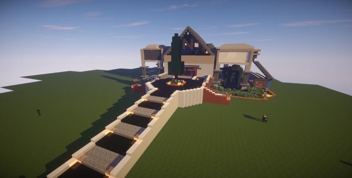 Mansion Moderna Minecraft Descargar