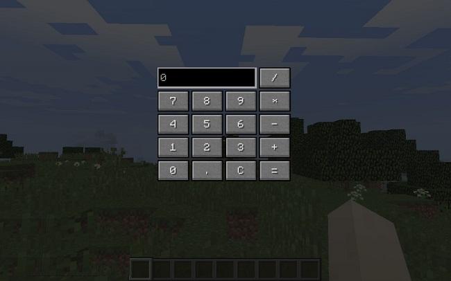 Mod MineCalculator Minecraft