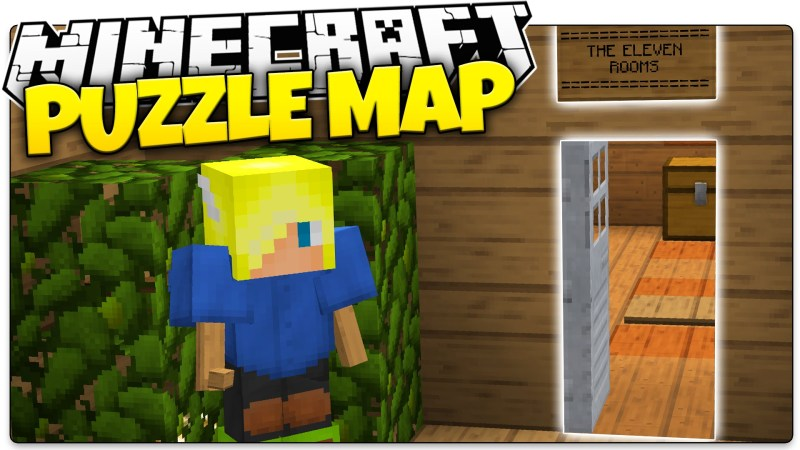 Mapa The Eleven Rooms Minecraft