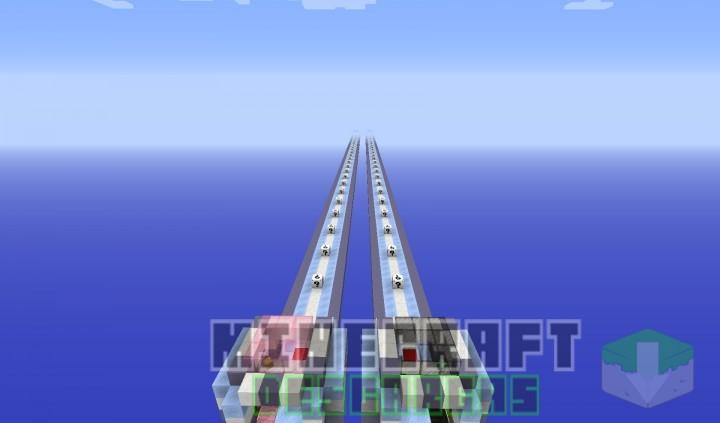 Mapa Mega Carrera Minecraft