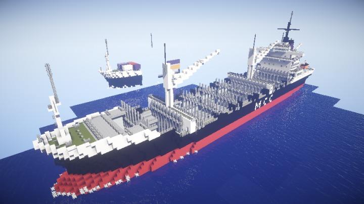 Descargar Barco de Carga Minecraft