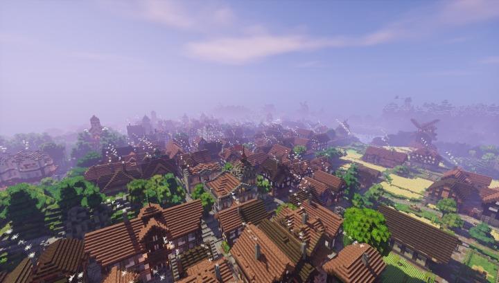 Mundo Medieval Mapa Minecraft