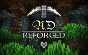 AD Reforged Texture Pack para Minecraft 1.10