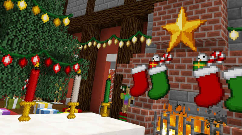 Christmas Festivity Mod Minecraft