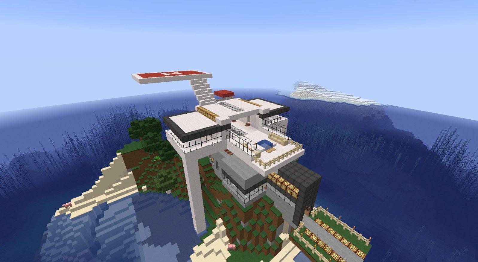 Mapa Mansion de la Isla
