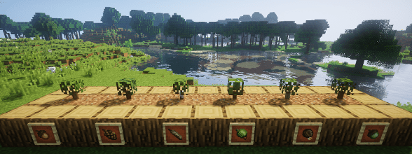 Dynamic Trees Karmaland Mod Minecraft
