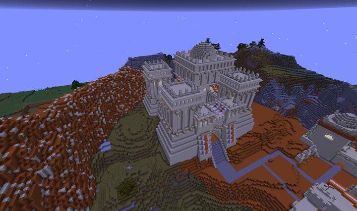 Castillo Minecraft Age of Empires