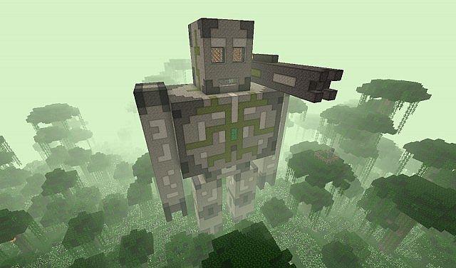 Golem de Hierro Gigante Minecraft