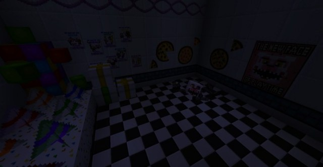 Five Nights at Freddy's 2 Map para Minecraft 1 14 4/1 13 2