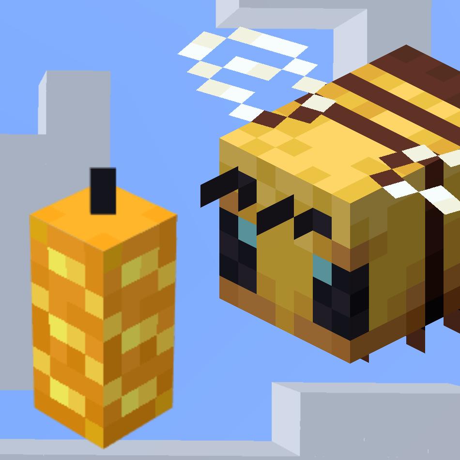 как сделать в майнкрафте пчёл дающих опыт #5