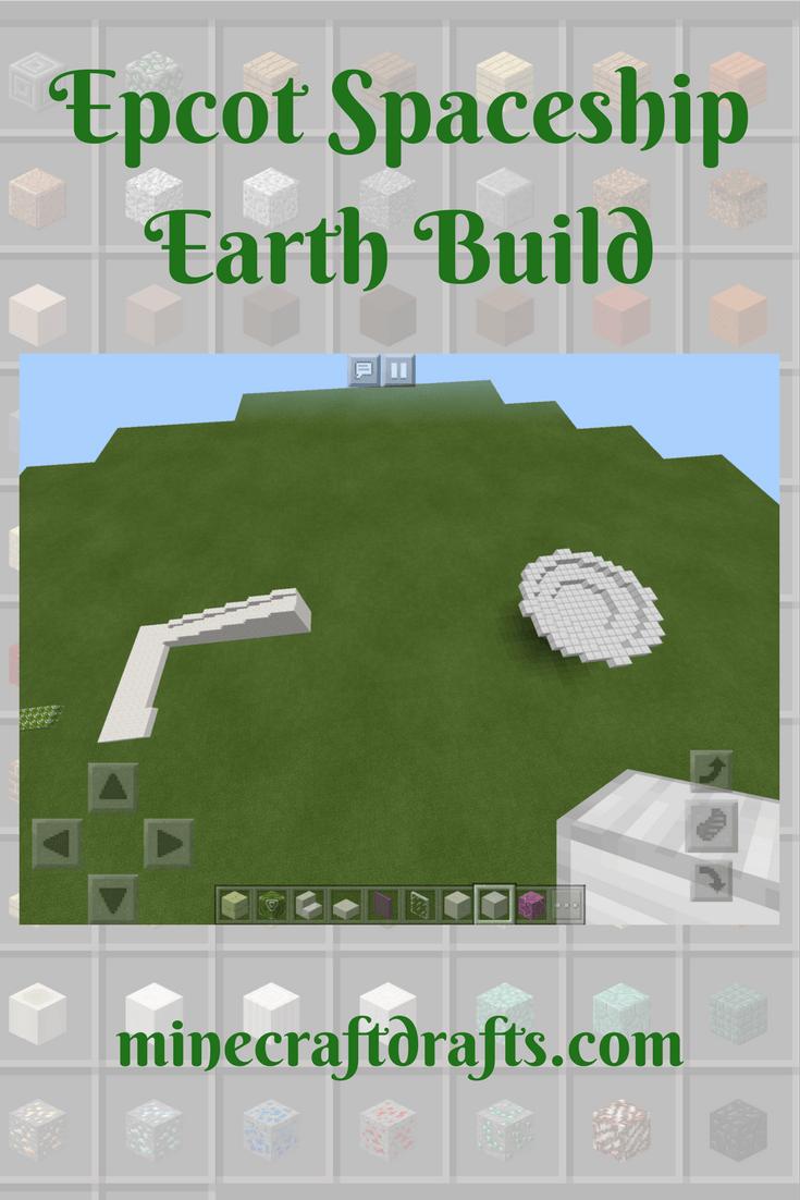 Disney Based Theme Park Spaceship Earth Build