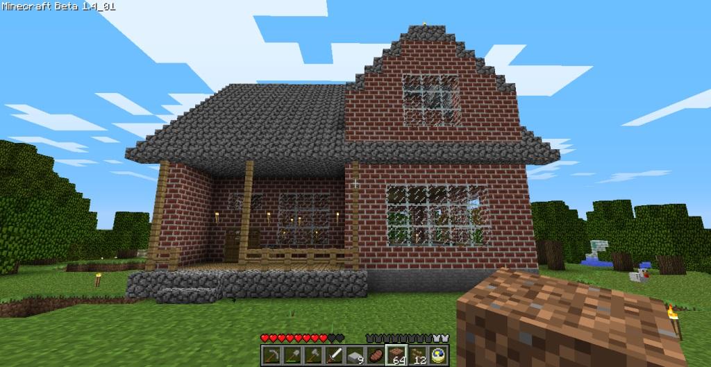 mine craft house ideas