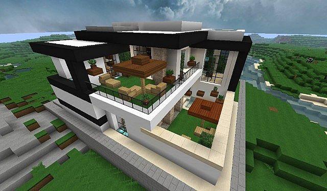 Modern Home Very Comfortable – Minecraft House Design