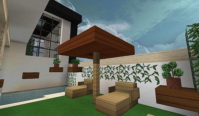 Modern House With Style Minecraft Build 5 – Minecraft House Design