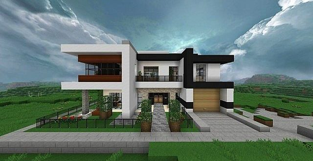 Modern Home Very Comfortable – Minecraft House Design