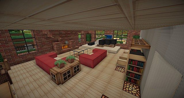 Traditional Brick House  Minecraft House Design