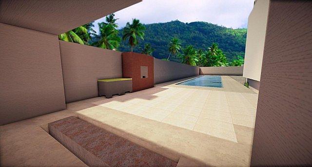 Buzzone | Minimalist House - Minecraft House Design