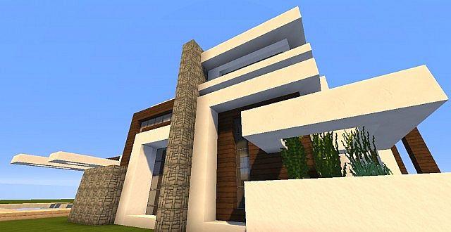 Novus Modern House – Minecraft House Design