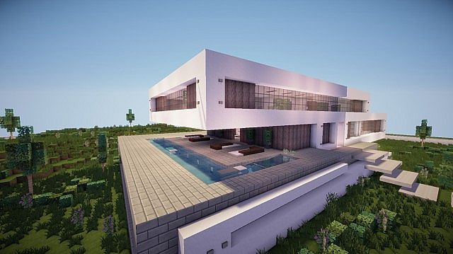 Fusion A Modern Concept Mansion – Minecraft House Design