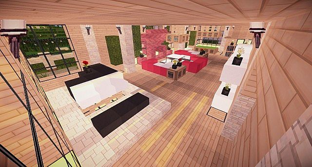 Minecraft Wooden House Minecraft House Design